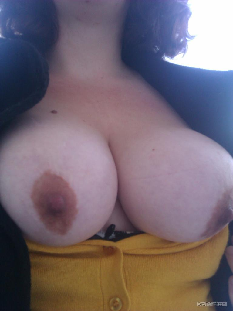 Tit Flash: My Big Tits (Selfie) - Assie from Netherlands